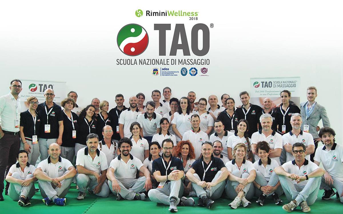 La Tao Scuola Nazionale di Massaggio a Rimini Wellness 2018